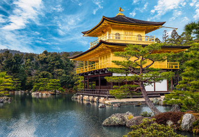 The-Golden- Pavilion-(Kinkaku-ji) of Kyoto
